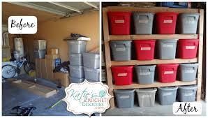 Building Wooden Shelves In Garage by Diy Storage Shelves Tutorial Katie U0027s Crochet Goodies