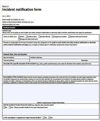 incident report template qld incident report form template qld professional and high quality