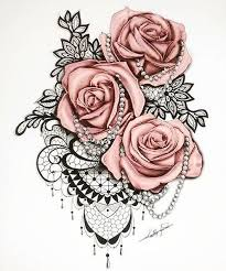 Tattoos Designs - best 25 lace ideas on thigh
