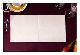 napkin folding for thanksgiving dinner diy pocket napkin fold with personalized dinner napkins