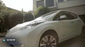 nissan leaf free charging nissan leaf charging points for electric cars youtube