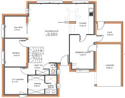 plan de maison 5 chambres plan maison 6 chambres a lu0027tage 3 chambres avec rangements