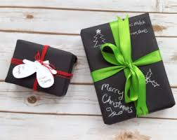 black gift wrapping paper black gift wrap etsy