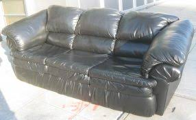futonland wonderful black vinyl sofa 4 sickchickchic com