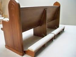 solid wood church pew kneeler metal pew kneeler also available