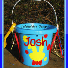 monogrammed easter buckets rustic barn birdhouse large barn from tallahatchiedesigns on