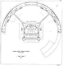 Airport Terminal Floor Plan by Bauzeitgeist Terminal Am Ende