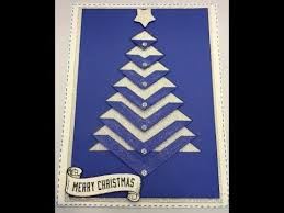 christmas tree card u0026 free template youtube