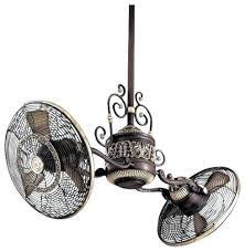 twin star ii ceiling fan ceiling fans twin ceiling fan traditional gyro 1 light sterling