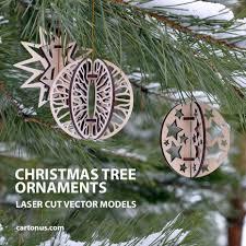 christmas tree ornaments on behance
