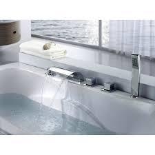 Waterfall Tub Faucet Waterfall Bathtub