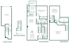 Ellington Floor Plan Floor Plans Of Brownstones In Novi Mi