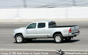 toyota tacoma supercharged pickuptrucks com charge it trd adds power to toyota trucks