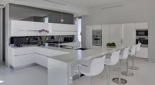 decorations white retro kitchen on large space with t kitchen