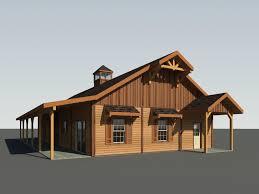 barn house blue ridge barn model a