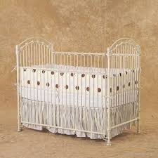 bratt decor baby crib wrought iron cast metal daybed poster