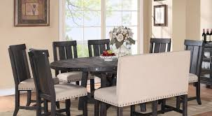 Dining Settees Table Praiseworthy Settee For Round Dining Table Superior Sofa