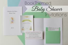 Library Card Invitation Themed Baby Shower Invitations Theruntime Com