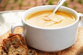 thanksgiving soups recipes camila alves u0027s roasted butternut squash and pear soup recipe