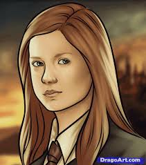 ginny weasley coloring pages how to draw ginny weasley step by step characters pop culture