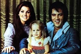 Family man  Elvis and Priscilla pose with their daughter Lisa Marie in      Daily Mail