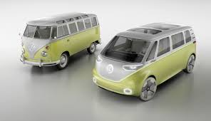 bmw hippie van vw taps its hippie heritage with an electric microbus bloomberg