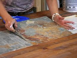 Dining Room Tile by Adding Recessed Tile To A Dining Table Hgtv
