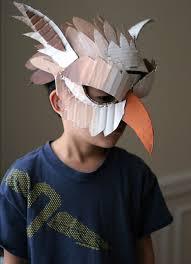 The Mask Costume 10 Diy Cardboard U0026 Paper Masks For Halloween Handmade Charlotte