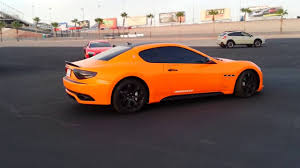 maserati red orange maserati u0026 red ferrari italia 458 youtube