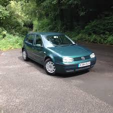 2000 volkswagen mk4 golf e 1 9 sdi diesel manual metallic green