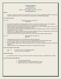 Xml Resume Example by Effective Resume Examples