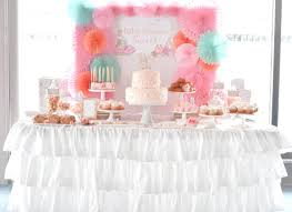 baby shower table jcycakes
