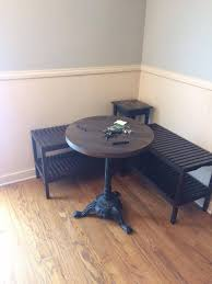ikea bench how to create a breakfast nook using ikea benches hometalk