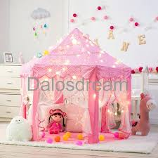 home interiors kids kids pink teepee kid playhouse pink castle princess play tent