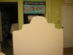 Slipcovers For Headboards by Slipcover Chic Slipcovered Headboard