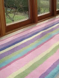 Striped Runner Rug Anna V Rugs Candy Stripe Runner Rug Size 65 X 244cm