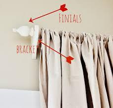 Curtain Brackets Home Depot 5 Custom Curtain Rod Custom Curtains Sick And Window