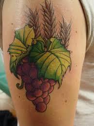 grape tattoo women pictures to pin on pinterest tattooskid