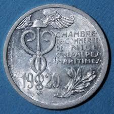 chambre de commerce 06 emergency coins 06 chambre de commerce 10 centimes 1920