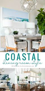 decorating a dining room remodelaholic decorating a coastal dining room inspiration and tips