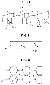 honeycomb ribbon patente ep0474161a2 honeycomb patentes