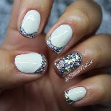 new nail design ideas ideas matte glossy colored glamor sparkle