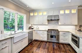 Robert Paige Cabinetry Custom Shaker Home Kitchen Cabinets - Shaker white kitchen cabinets
