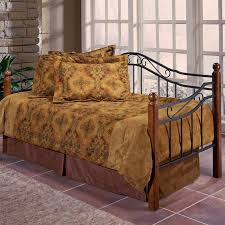 Iron Daybed With Trundle Hillsdale Furniture Jamie Daybed With Trundle Walmart Com