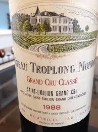 learn about chateau troplong mondot 1988 château troplong mondot bordeaux libournais st