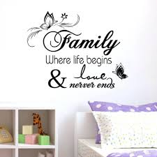 home decor wall posters wall art decals sayings muslin wall art mural poster home
