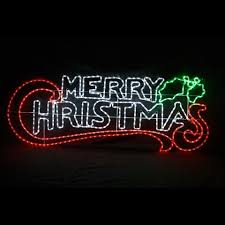 led merry christmas light sign sydney s christmas barn