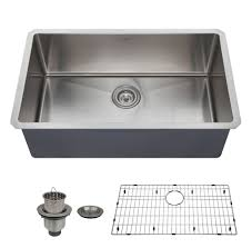 Best Single Bowl Kitchen Sink Reviews  Buying Guide BKFH - Best kitchen sinks undermount