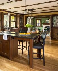 universal design in the arts crafts spirit arts crafts homes accessible and open the kitchen is nevertheless nicely contained oak cabinets look like built