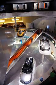 mercedes museum stuttgart interior germany stuttgart mercedes museum arch indoor pinterest